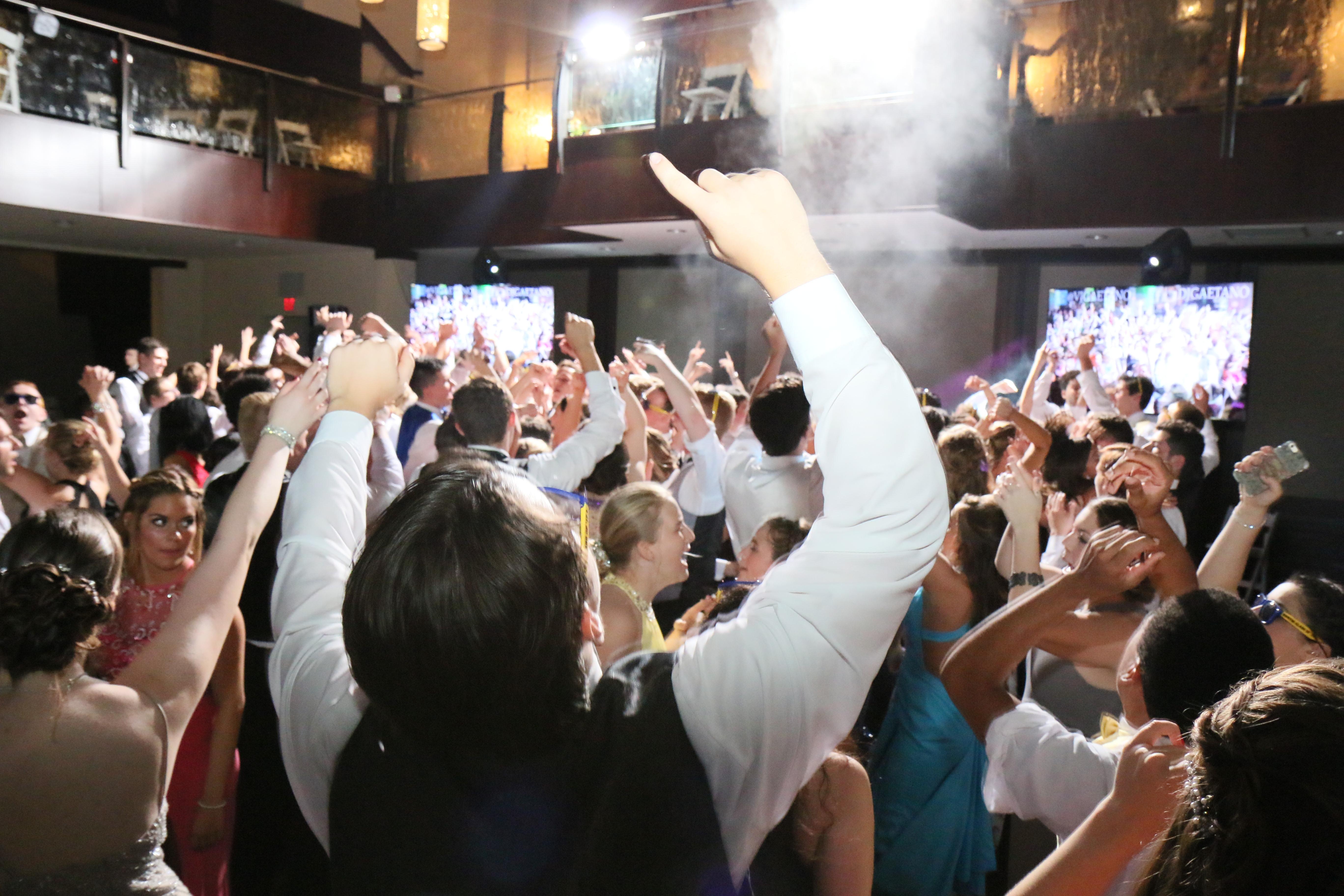 Phoenixville Foundry, Prom, DJ Gaetano Entertainment, DJ Gaetano, Lighting, Sound, Multi-media production